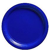Royal Blue Plates - 23cm Paper Party Plates