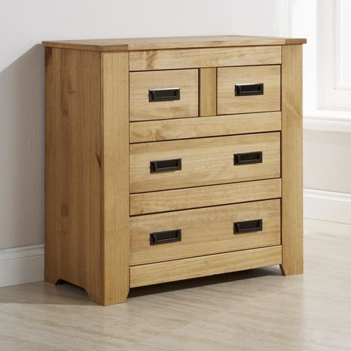 Elements Oxford Bristol 2 Over 2 Drawer Chest