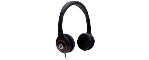 V7 Deluxe Headphones - Black