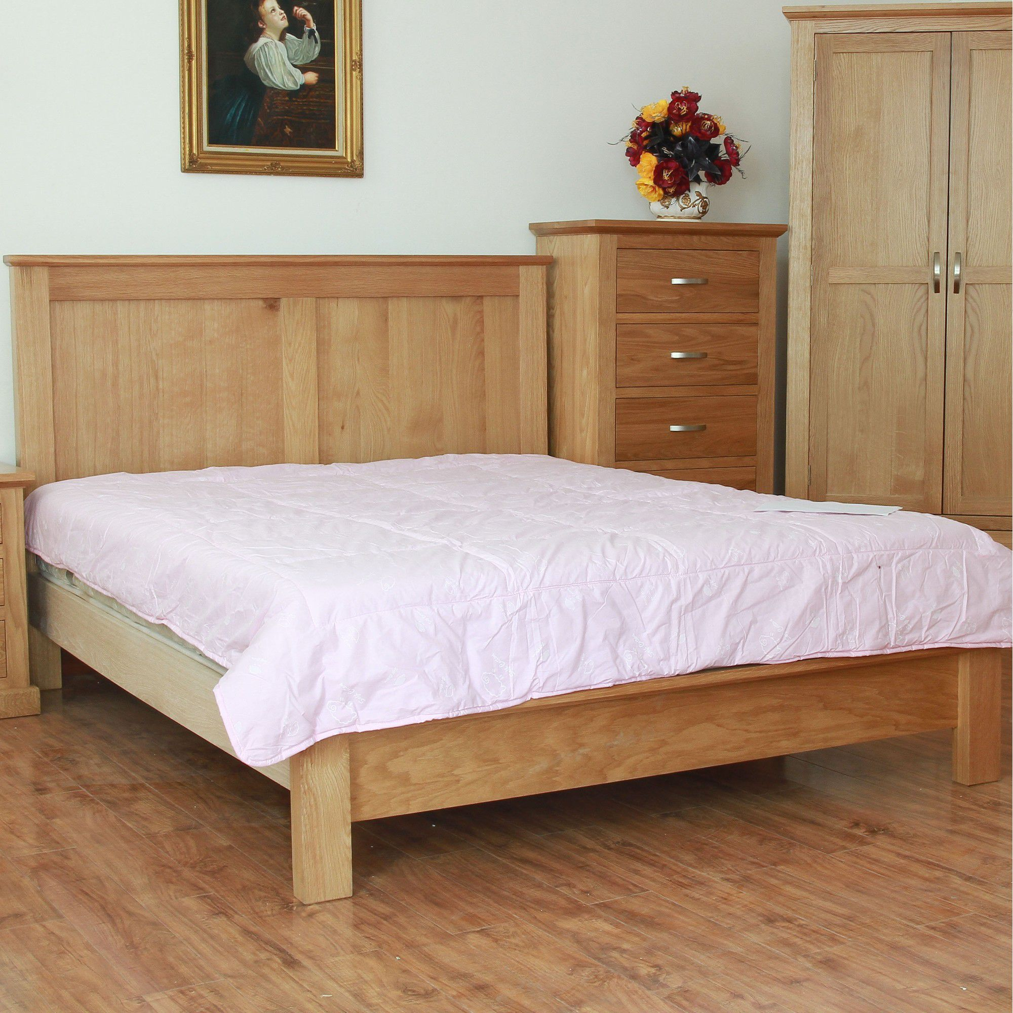 Elements Edmonton Bed Frame - Double at Tescos Direct