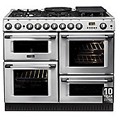 Cannon by Hotpoint CH10450GFS, Freestanding, Dual Fuel Cooker, 100cm, Stainless Steel, Range Cooker