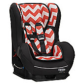 OBaby Group 0-1 Combination Car Seat (ZigZag Orange)
