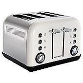 Morphy Richards Accents 242005 4 Slice Toaster - White