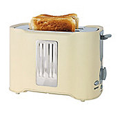 Lloytron E2011CR 2 Slice 850w Toaster - Cream/Chrome