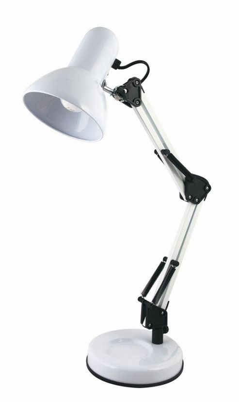 Home Essence Hobby 40W Desk Lamp in White