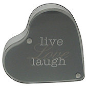Live Love Laugh Heart Frame