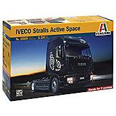 Iveco Stralis Active Space Cube - Scale 1:24 - 3869 - Model Kit - Italeri