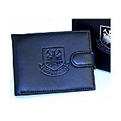 West Ham FC Black Leather Wallet