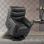 Birlea Regency Rise Recliner Chair - Black