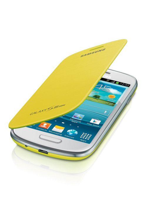 Samsung Original Galaxy SIII Mini Flip Case Yellow