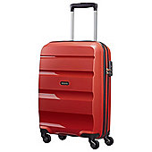 American Tourister Bon Air Hard Shell 4-Wheel Suitcase, Red Small