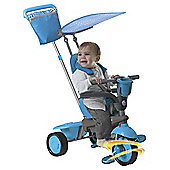 Smart Trike Spirit Touch Steering 4-in-1 Trike, Blue