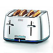 VTT240 4 Slice Illuminating Toaster with Lift and Look Feature