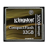 Kingston 32GB Compact Flash Ultimate Memory Card