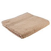 Tesco Hygro 100% Cotton Bath Towel, Caramel