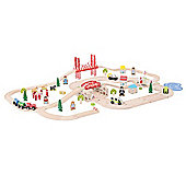 Bigjigs Rail BJT021 Rural Rail and Road Set