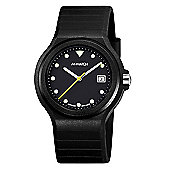 M-Watch Swiss Made Maxi Black Unisex Date Display Watch - A661.30615.20.03