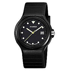 M-Watch Maxi Black Unisex Resin Date Watch A661.30615.20.03