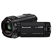 Panasonic HC-W850 Camcorder Black FHD 12.76mp 20xZoom 3.0LCD WiFi SD/SDHC/SDXC