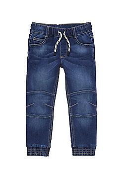 F&F Dark Wash Jogger Jeans - Blue
