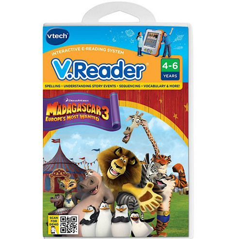 VTech Storio Madagascar 3 Software