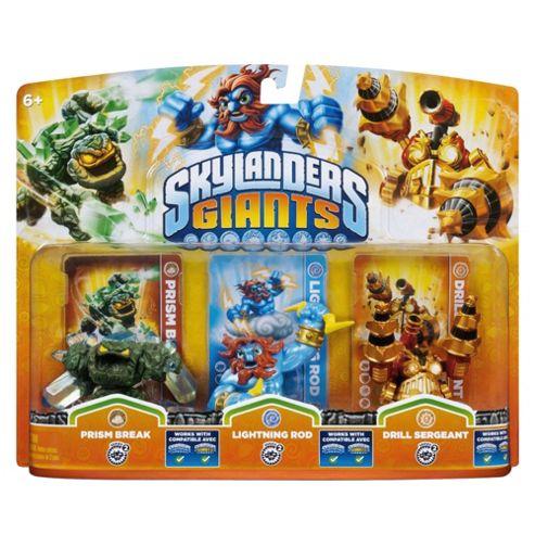 Skylanders Giants - Triple Character Pack - Prism Break, Lightning Rod & Drill Sergeant