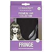 Leo Bancroft Fringe Clip - Darkest Brown