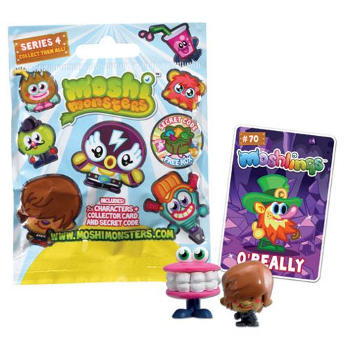 Moshi Monsters Two Moshling Foil Pack - Series 4