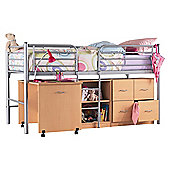Hyder Cabin Bunk Bed - Mattress Included