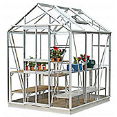 Simplicity Stafford Plain Aluminium Greenhouse 5x6 Starter Package
