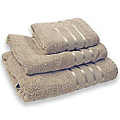 Homescapes Beige Turkish Cotton Hand Towel Chic Design