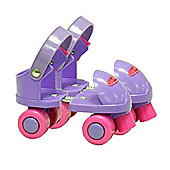 Ozbozz My First Skates Purple with Pink Wheels