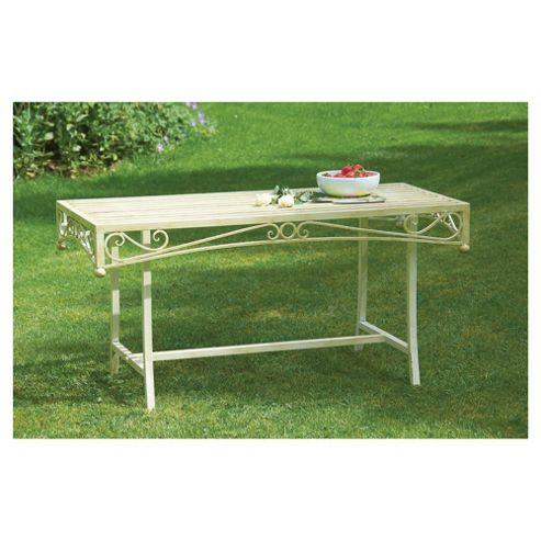 Versailles Low Table - Antique Cream