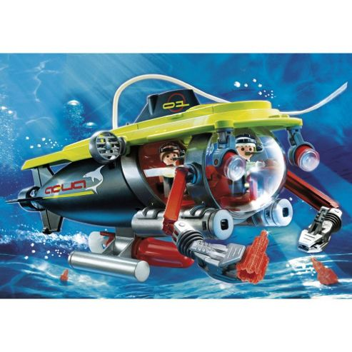 Playmobil Deep Sea Sub and underwatermotor