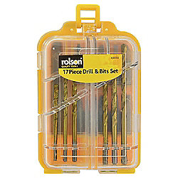 Rolson 17 Piece Drill & Bits Set