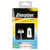 Energizer 30 Pin Cable & 2.1amp car charger