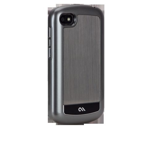 Case-Mate Premium Refined Brushed Aluminium Cases for BlackBerry Q10 - Silver