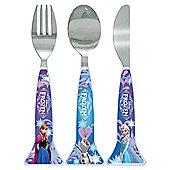 Frozen snowflake cutlery
