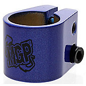 MGP Double Collar Scooter Clamp - Blue