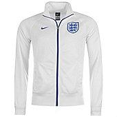 2014-15 England Nike Core Trainer Jacket (White) - White