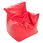 Kaikoo Kid's Funzee Chair - Faux Leather Red