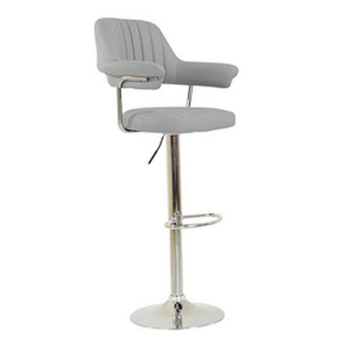 buy perona light grey fabric bar stool from our bar tables. Black Bedroom Furniture Sets. Home Design Ideas