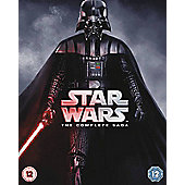 Star Wars Complete Saga New - Bluray