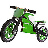 Kiddimoto Superbike (Green/White)