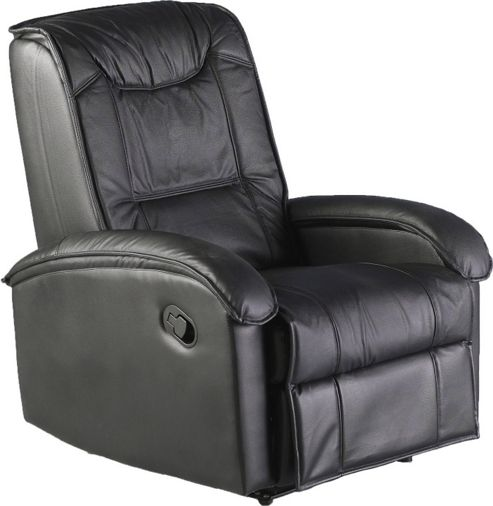 Home Essence Shangrila Recliner in Black