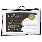 Kings & Queens Kingsize Mattress Topper - Cashmere Indulgence
