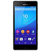 Tesco Mobile Sony Xperia M4 Aqua Black