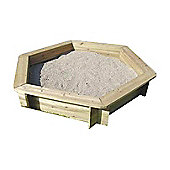 Bentley Garden Wooden Hexagonal Sand Pit Cover