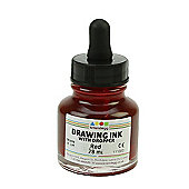 Drawing Ink Brilliant Red 28 ml Dropper Top