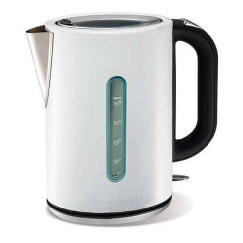 Morphy Richards 43941 Elipta Kettle - White Stainless Steel